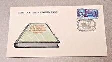 Antonio Caso Centenaro Natalico del Filosofo First Day Cover Stamp Mexico