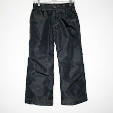 686 Ski Snowboard Pants Boys Large Youth Evolution Denim Distressed Look Gray
