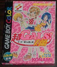 Nintendo Game Boy Color. Cho Gals! Kotobuki. DMG-BGLJ-JPN