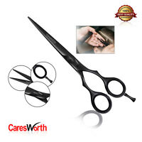 Hairdressing Barber Scissor Shears Razor Sharp Japanese Black Salon Hair Cutting