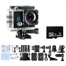 Homkm Sport Action Camera 4K Ultra HD 30fps Wifi Waterproof Cam DV can take 32gb
