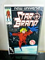 Marvel New Universe ~ STAR BRAND Comic Book 1986 ~ Volume 1 No. 1 BAGGED BOARDED