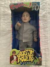 "Austin Powers Mini Me 18"" Talking Action Figure Doll McFarlane Toys New"
