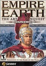 EMPIRE EARTH: THE ART OF CONQUEST EXPANSION PACK PC GAME W/KEY! [2002] EX