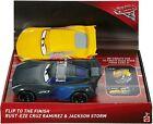 Disney Pixar Cars 3: Flip to The Finish Rust-eze Cruz Ramirez & Jackson Storm Ve