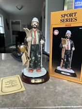 Emmett Kelly Jr./Flambro Professional Series Autographed, 'The Skier'.