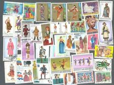 Costumes + Uniforms  200 all different stamp collection