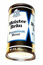 Meister Brau Premium 99-7 Flat Top Beer Can A1+ Cone Tab Soda Chicago Sign MkOfr
