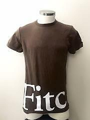 NWT Abercrombie & Fitch af Men Brown t-shirt Size: Small
