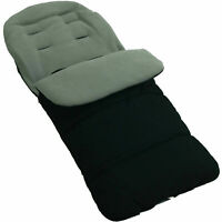 Footmuff / Cosy Toes Compatible with Hauck Pushchair Dolphin Grey