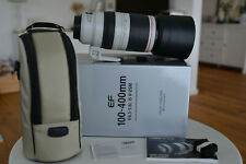 Canon EF 100-400mm F4 5-5 6l IS II USM Zoom Objektiv - neuwertig - OVP -