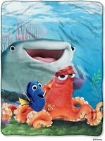 "Disney-Pixar's Finding Dory, ""A Fishy Group"" Micro Raschel Throw Blanket"