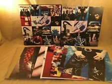 U2 Achtung Baby 20th Anniv Deluxe Edition CDs/BOOK/PRINTS EUC - Missing 1 CD