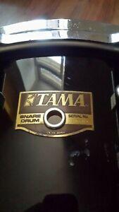 "Tama Artstar Artwood Maple 14""x6,5"" snare drum, black finish"