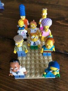 Lego The Simpsons Minifigures