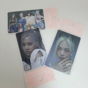 """BLACKPINK X T-MONEY """"How you like that"""" Official Photocard K-POP ALL,ROSE,JENNIE"""
