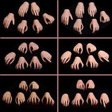 "1/6 Scale Suntan & Pale Skin Hands Model Toy For 12"" Female Figure Phicen Body"