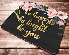 Inspirational Quote Mouse Pad Office Desk Accessories for Women Coworker Gift