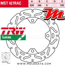 Disque de frein Arrière TRW MST 427 RAC Honda CBR 1000 RR Fireblade (SC59) 2008