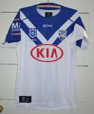 Canterbury Bulldogs NRL Youth Jersey Size 14Y Blue & White 2019 Great Condition