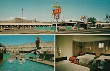 Vintage Postcard - The Mustang Motel - Green River Wyoming