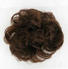chouchou chignon cheveux châtain foncé cuivré ref: 17 en 31