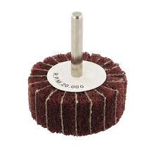 60mm x 30mm 80 Grain mop Roue, 6mm Arbor-Nettoyage / ponçage / polissage