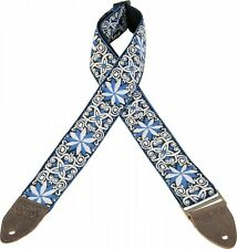 Levy's Guitar Strap JIMI HENDRIX Blue Flowers VINTAGE Woven Ace Levys M8HTV-10