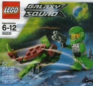 LEGO 30231 Galaxy Squad Space Insect / Weltallinsekt + Figur