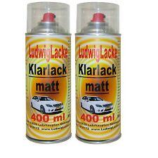 KLARLACK 2 Spraydosen   MATT je 400ml  Autolack Made in Germany FreiHaus