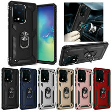 For Samsung Galaxy S20/S20+/S20 Ultra Hybrid Armor Case With Ring Stand Holder