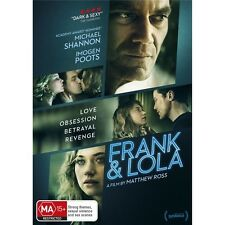 FRANK & LOLA-DVD-Imogen Poots-Region 4-New AND Sealed
