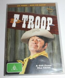 F Troop A Gift From The Chief DVD 2008 Brand New & Sealed