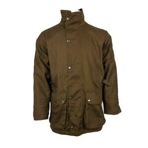 Stormkloth Country wear Mens Canvas Field Jacket Waterproof, Breathable  Coat