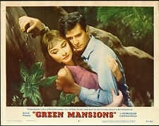 GREEN MANSIONS orig lobby card AUDREY HEPBURN/ANTHONY PERKINS 11x14 movie poster