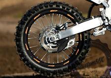 "Motocross / Enduro / Supermoto Wheel Rim Decals 21"" 19"" 17"": Fit KTM SX SXF EXC"