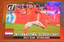 2015 Panini Donruss GOLD Daley Blind International Superstars Netherlands 03/10
