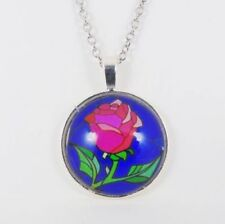 Silver Plated Beauty Costume Necklaces & Pendants
