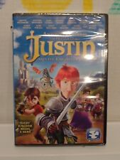 NEW SEALED JUSTIN and The KNIGHTS of VALOR (2013) Dove Family Approved PG