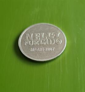"""Collectible NELLY FURTADO """"LOOSE"""" 2007 EUROPEAN TOUR CONCERT 2007 COIN TOKEN 🔥"""