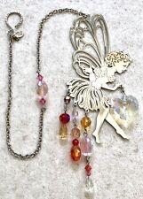 Kirks Folly Fairy Sun Catcher Ornament  Pixie Crystal Wind Chime ~Retired
