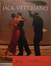 Jack Vettriano Buch Original signiert signed autograph Signatur