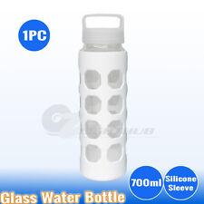 1PC 700ml Glass Water Bottle Sport Outdoor  Hydration kettle cup BPA Free