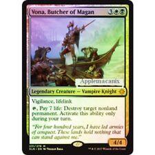 NEW MINT MTG FOIL Vona, Butcher of Magan Magic The Gathering Ixalan w/TOP LOADER