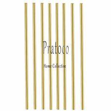 Comonc 8 Pcs 12 Inch 18 Brass Rod Brass Round Stock Lathe Bar Stock Kit Brass R