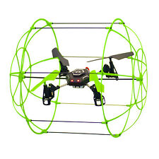Glow In The Dark Sky Runner-Aerodynamic Quadcopter Make it Fly, Climb, & Hover