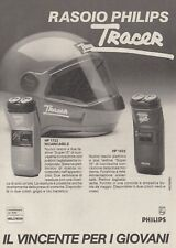 X3136 Rasoio PHILIPS Tracer - Pubblicità d'epoca - 1984 vintage advertising