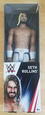 """WWE Wrestling SETH ROLLINGS 12"""" / 30cm MATTEL Figure DXR08"""