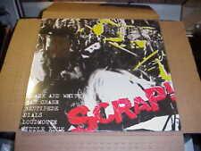 Lp: Scrap! V/A Japanese Punk New Sealed Car Crash Middle Edge Dials Centipede