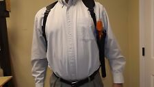 """VERTICAL RIGHT Shoulder Holster SMITH & WESSON S&W Model 460 XVR w/ 12"""" barrel"""